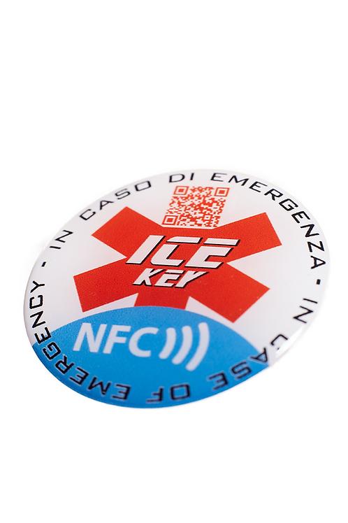 ICE-KEY TAG sfondo bianco