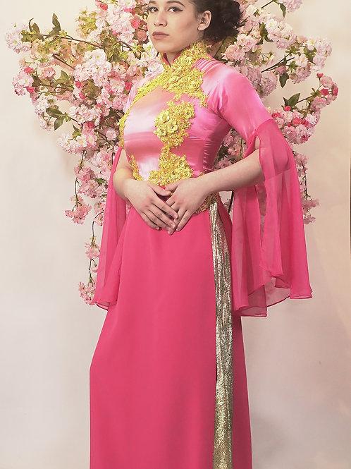 Princess Peach Ao Dai