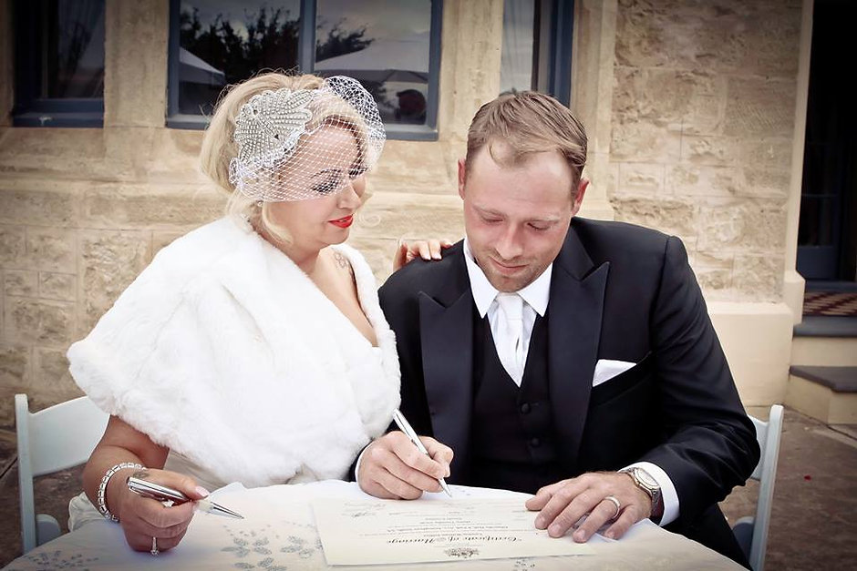 wedding celebrant adelaide