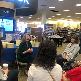 At Barnes & Noble in Wilmington, NC (1).