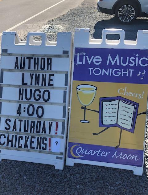 Quarter Moon Books in Topsail Beach, NC.