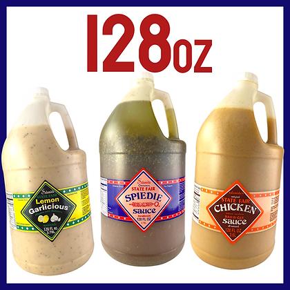 Salamida 128 Ounce Bottles (4-Pack)