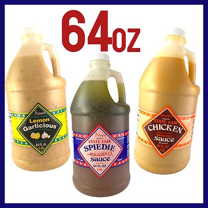 Salamida 64 Ounce Bottles (Single)