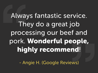 Customer Quote From Angie H.