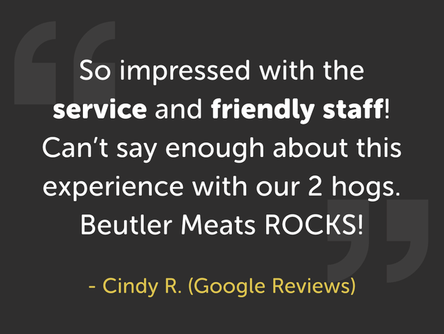 Customer Quote From Cindy R.