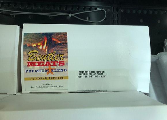 Hamburger Patties - Premium Blend
