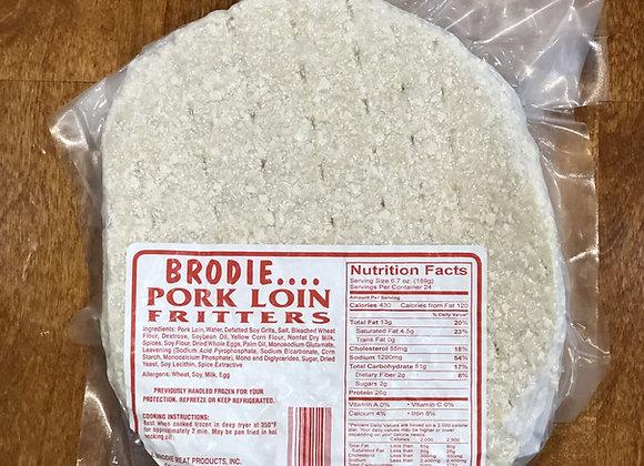 Pork Loin Fritter
