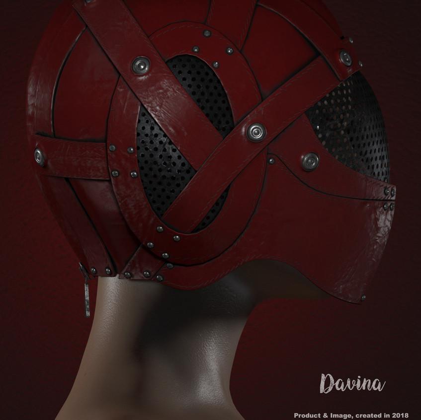 AZOURY - Davina Helmet [Red]