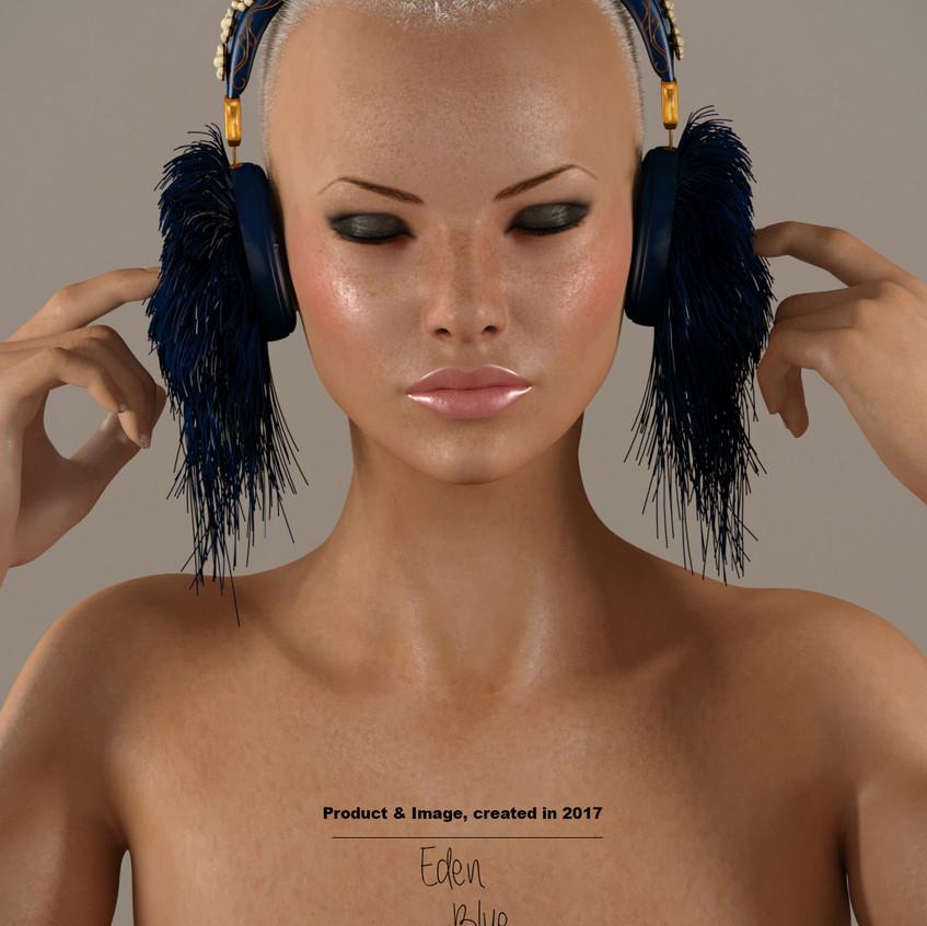AZOURY - Eden Headphone [Blue]