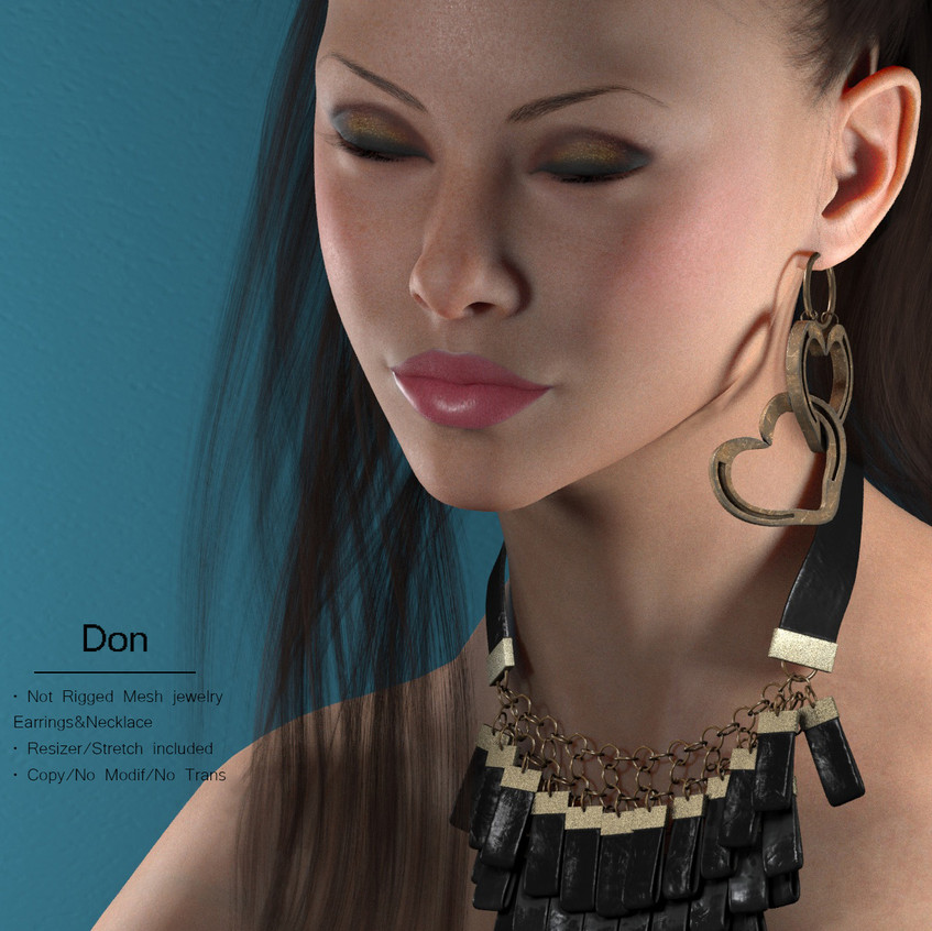 AZOURY - Don Jewelry {Black}