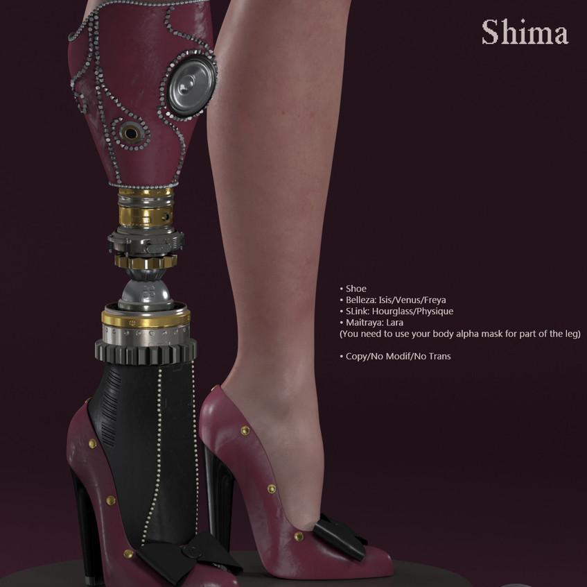 AZOURY - Shima Shoe [Pink]