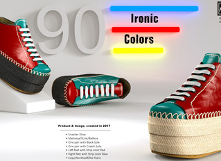 Ironic Sneaker Shoe for 90's Throwback