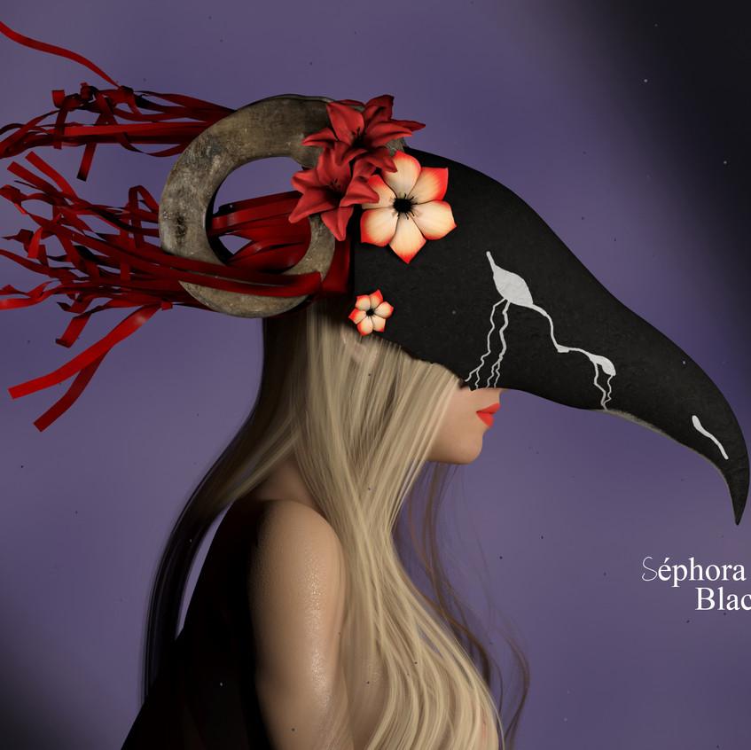 AZOURY - Sephora Mask [Black]