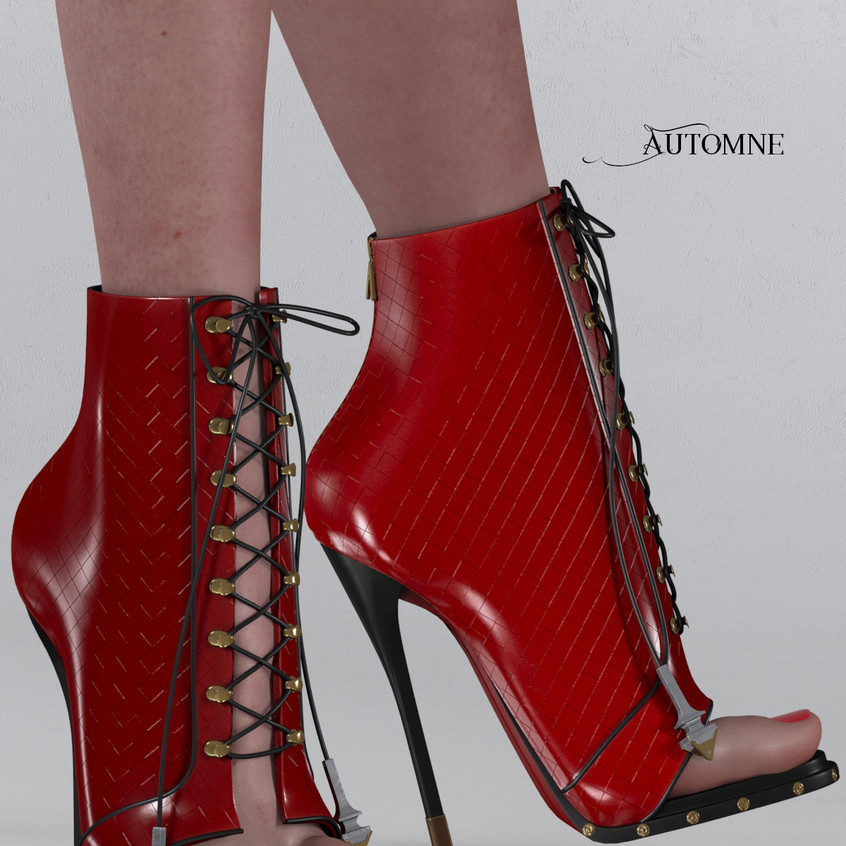 AZOURY - Automne Boot [Red]