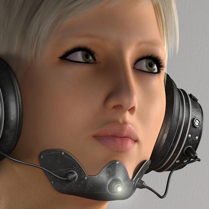 AZOURY - Yudu Headphone [White]