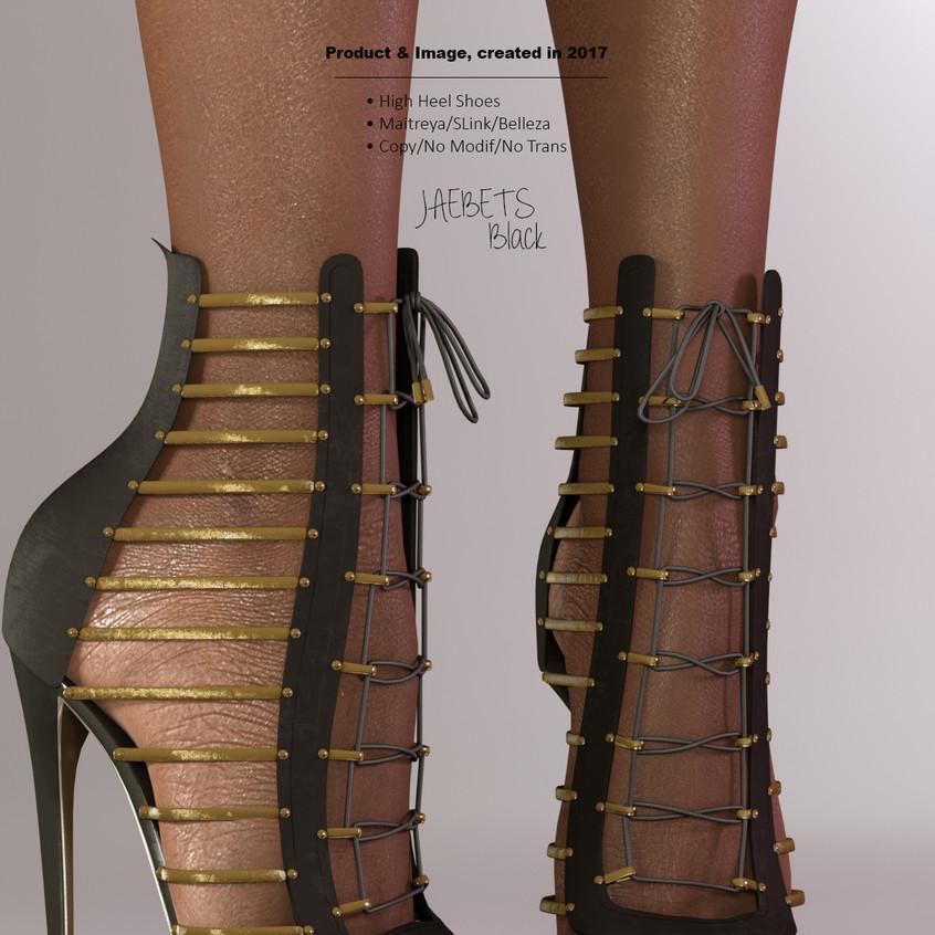 AZOURY - Jaebets high heel shoe [Black]