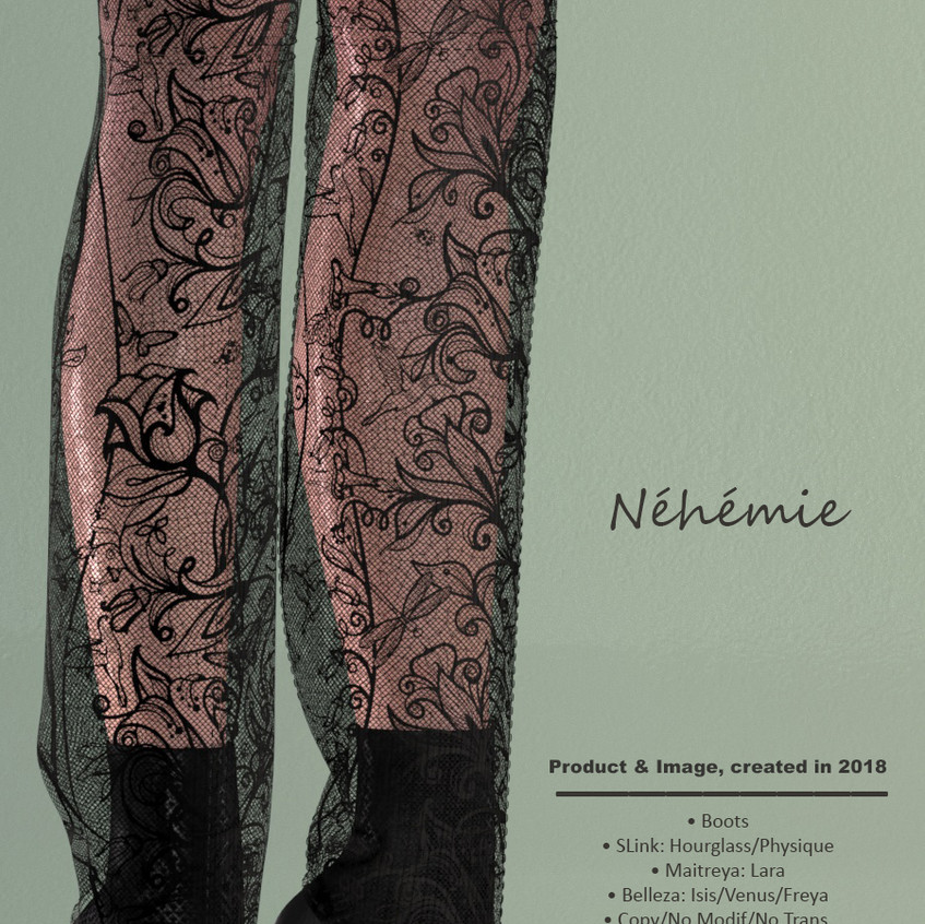 AZOURY - Nehemie Boots Onyx