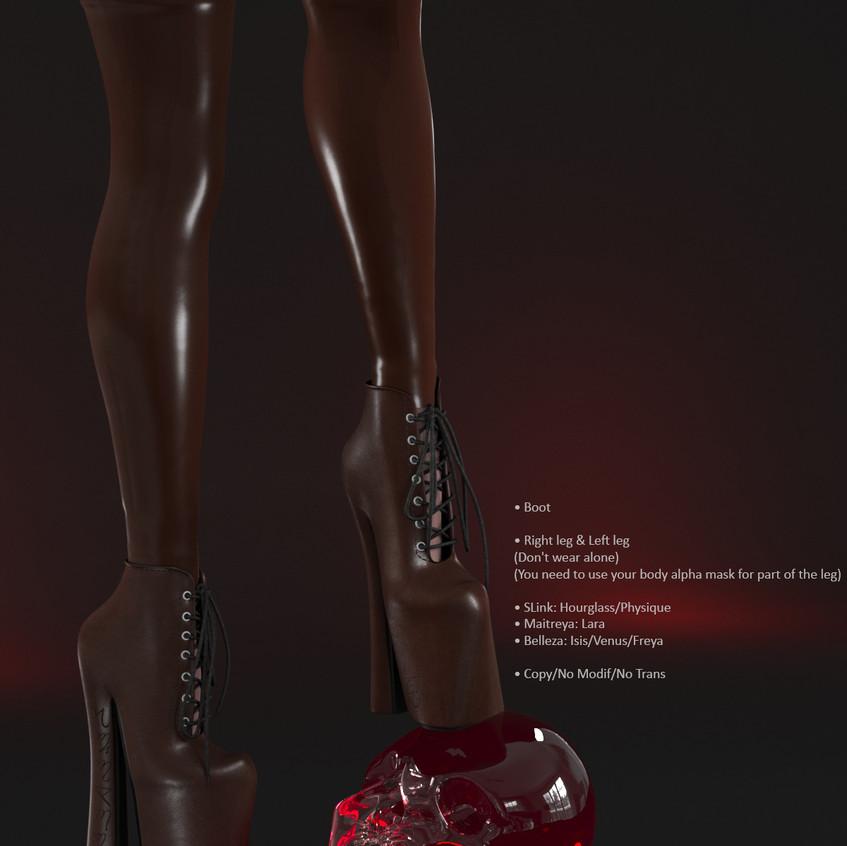 AZOURY - Salem Boot [Chocolate]