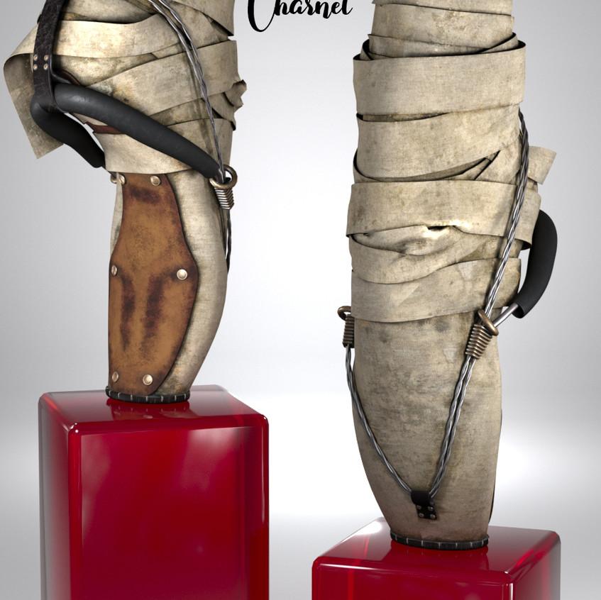 AZOURY - Charnel Ballet Shoe {Cream}