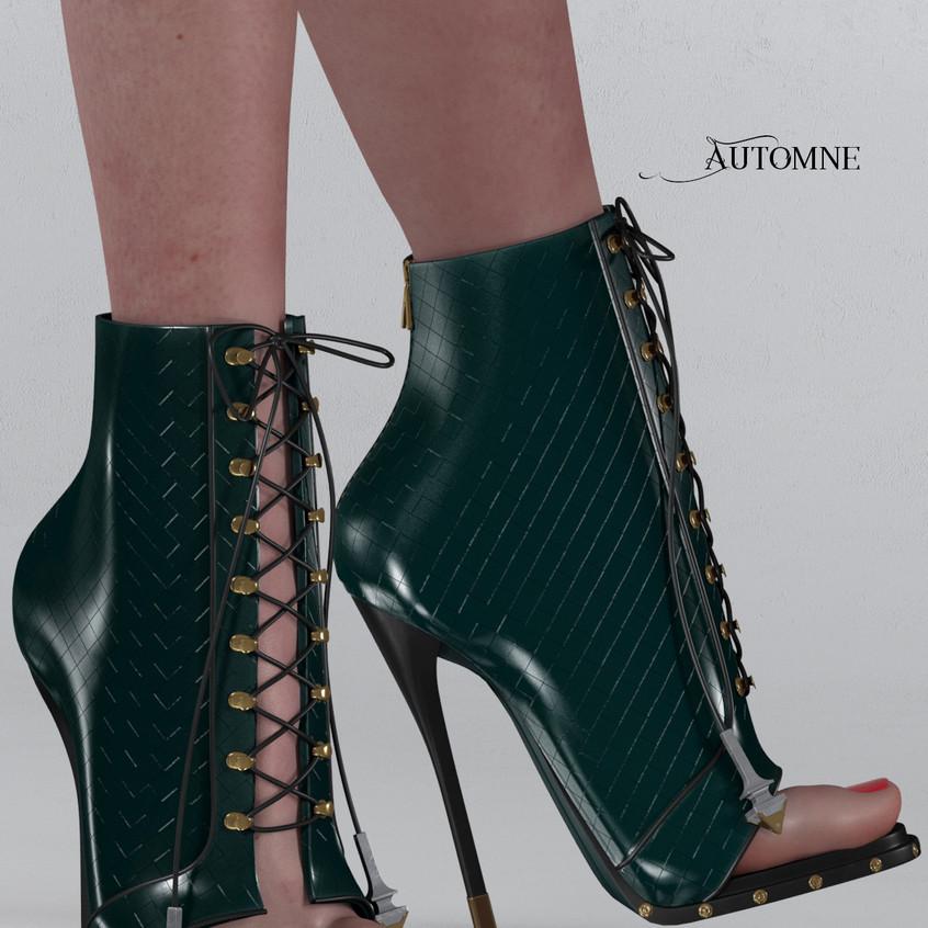 AZOURY - Automne Boot [Green]