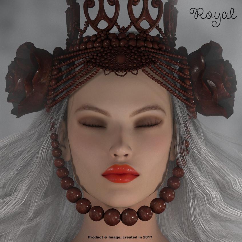 AZOURY - Royal Crown [Metallic Rose]