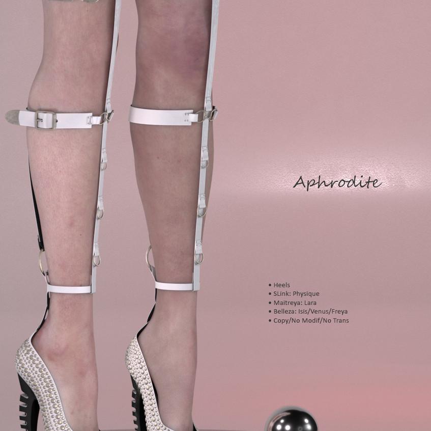 AZOURY - Aphrodite Heels {White}
