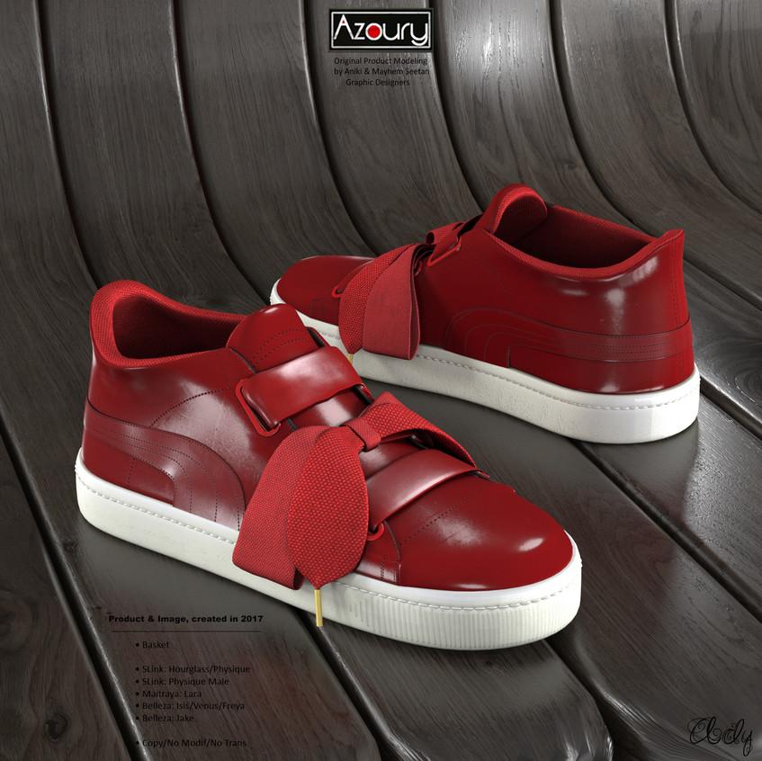 AZOURY - Basket Ady [Red]