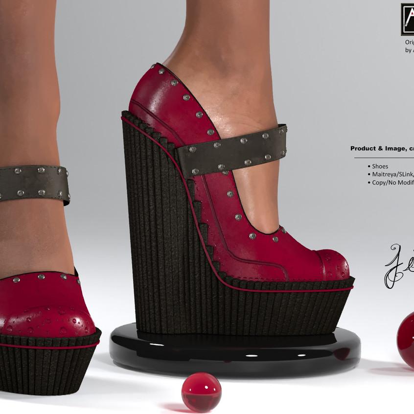 AZOURY - Jim Shoes [Fuschia]