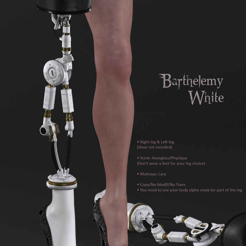 AZOURY - Barthelemy [White]