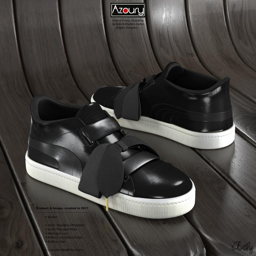 AZOURY - Basket Ady [Black]