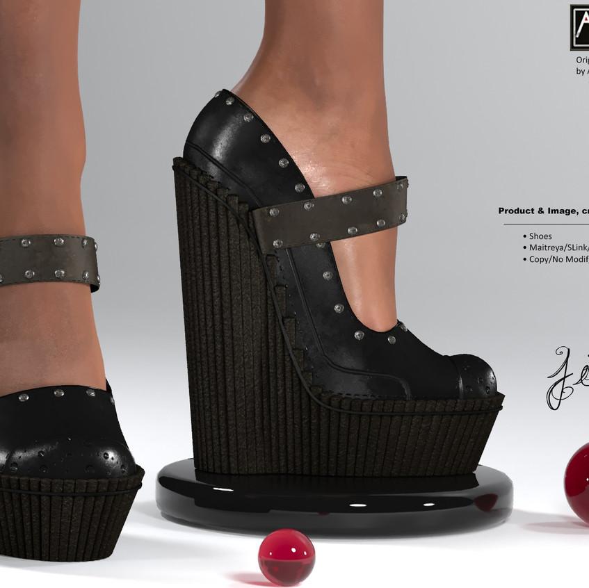 AZOURY - Jim Shoes [Black]