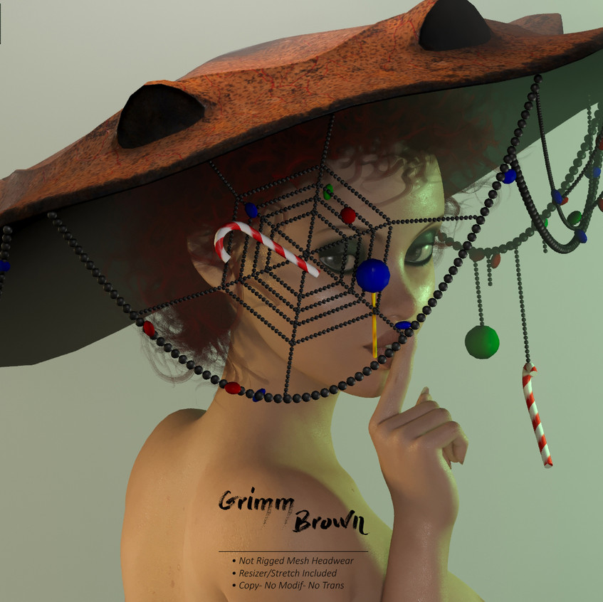 AZOURY - Grimm Headwear Brown