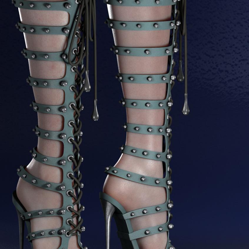 AZOURY - Caleb Shoe {Blue}