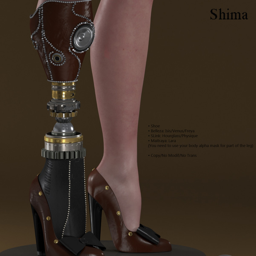 AZOURY - Shima Shoe [Chocolate]