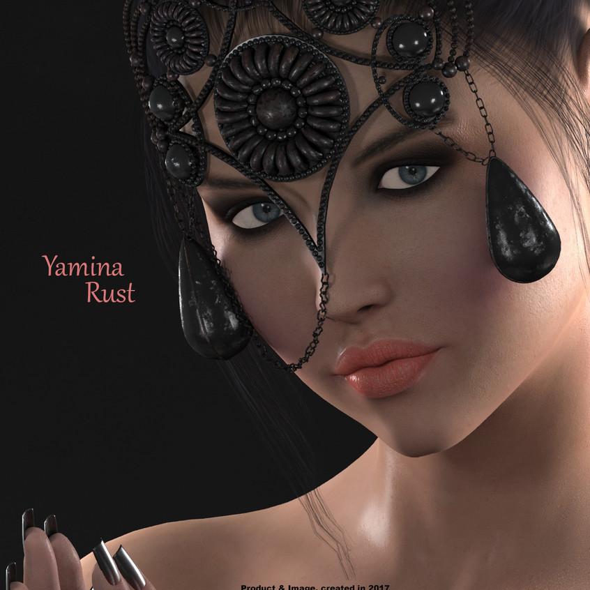 AZOURY - Yamina Mask [Rust]
