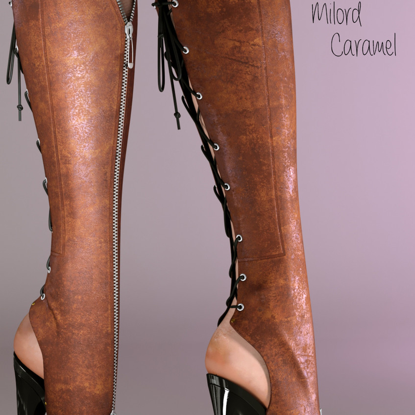 AZOURY - Milord Boots [Caramel]