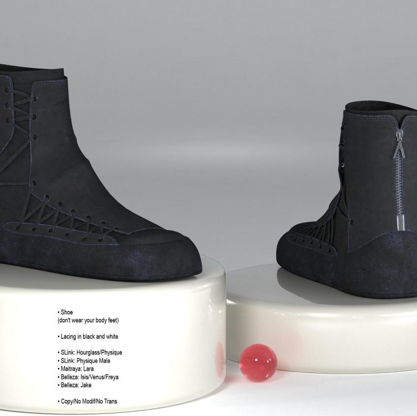 AZOURY - Amedeo shoe Black