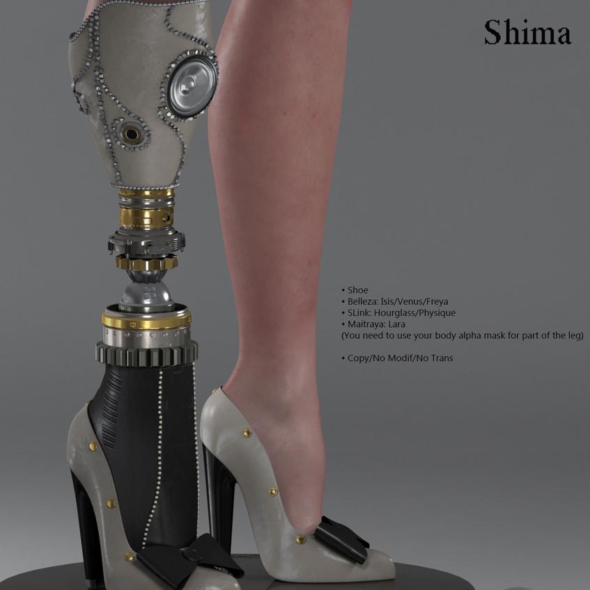 AZOURY - Shima Shoe [Grey]