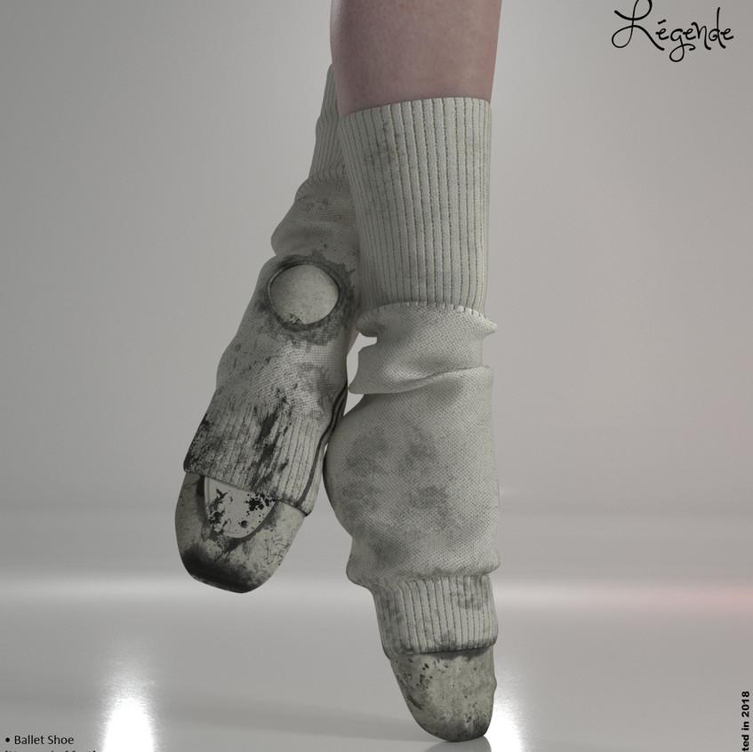 AZOURY - Legende Ballet Shoe {Beige}