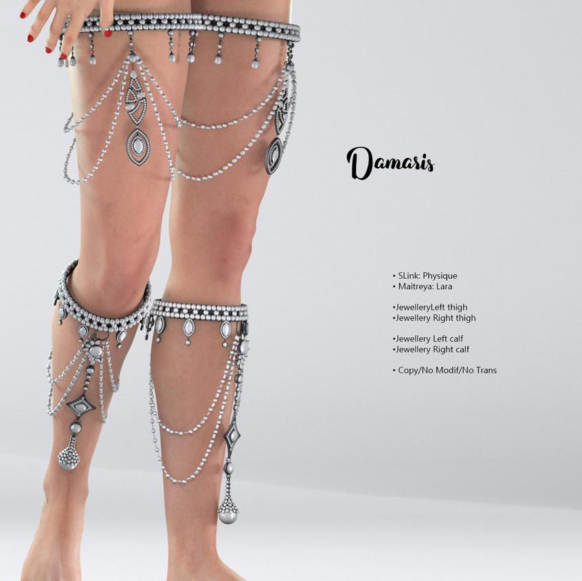 AZOURY - Damaris Jewellery White