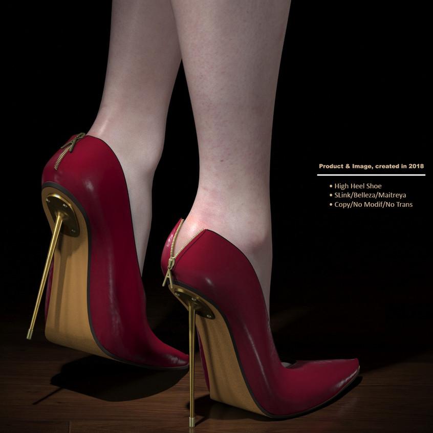 AZOURY - Kardia High Heel Shoe [Fuschia]