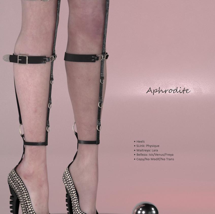 AZOURY - Aphrodite Heels {Black}