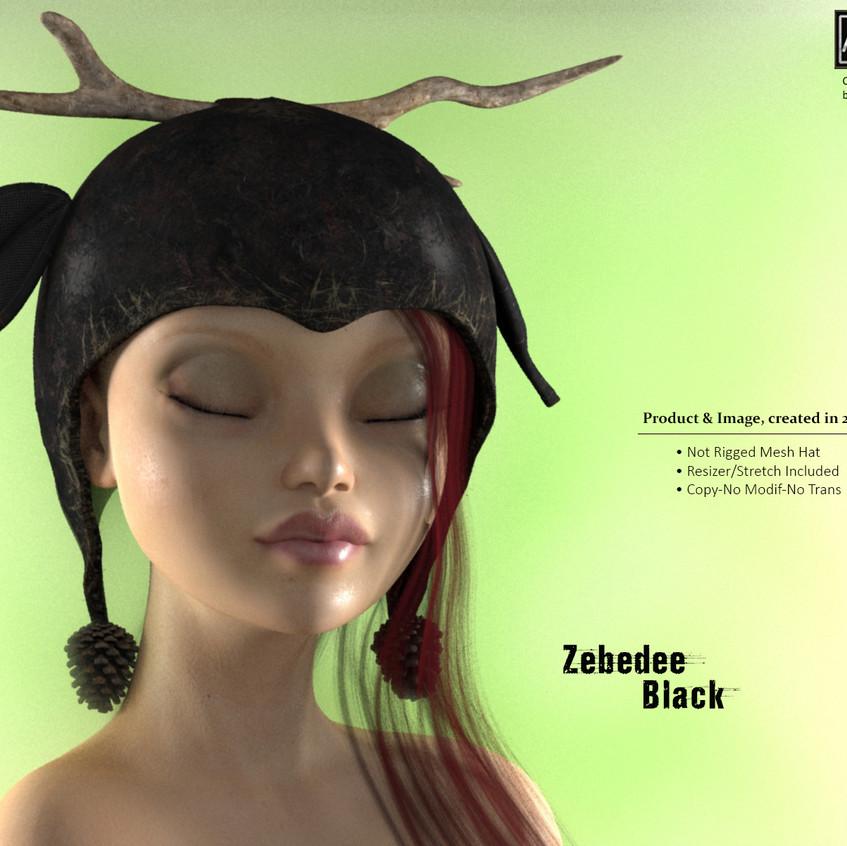 AZOURY - Zebedee Hat [Black]