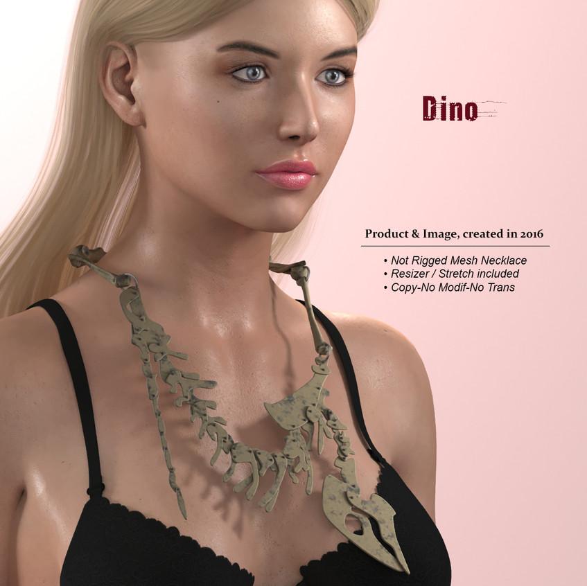 AZOURY - Dino Necklace [AD]
