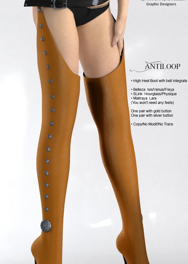 AZOURY - Antiloop leather [Yellow]