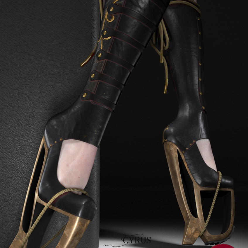 AZOURY - Cyrus Boots [Black]