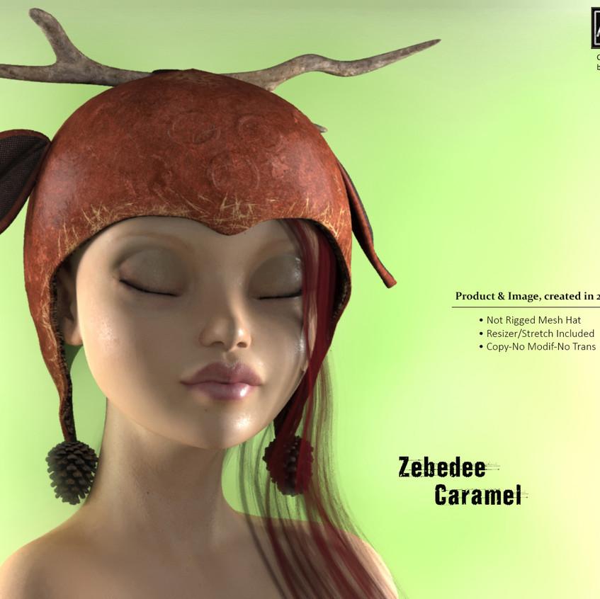 AZOURY - Zebedee Hat [Caramel]