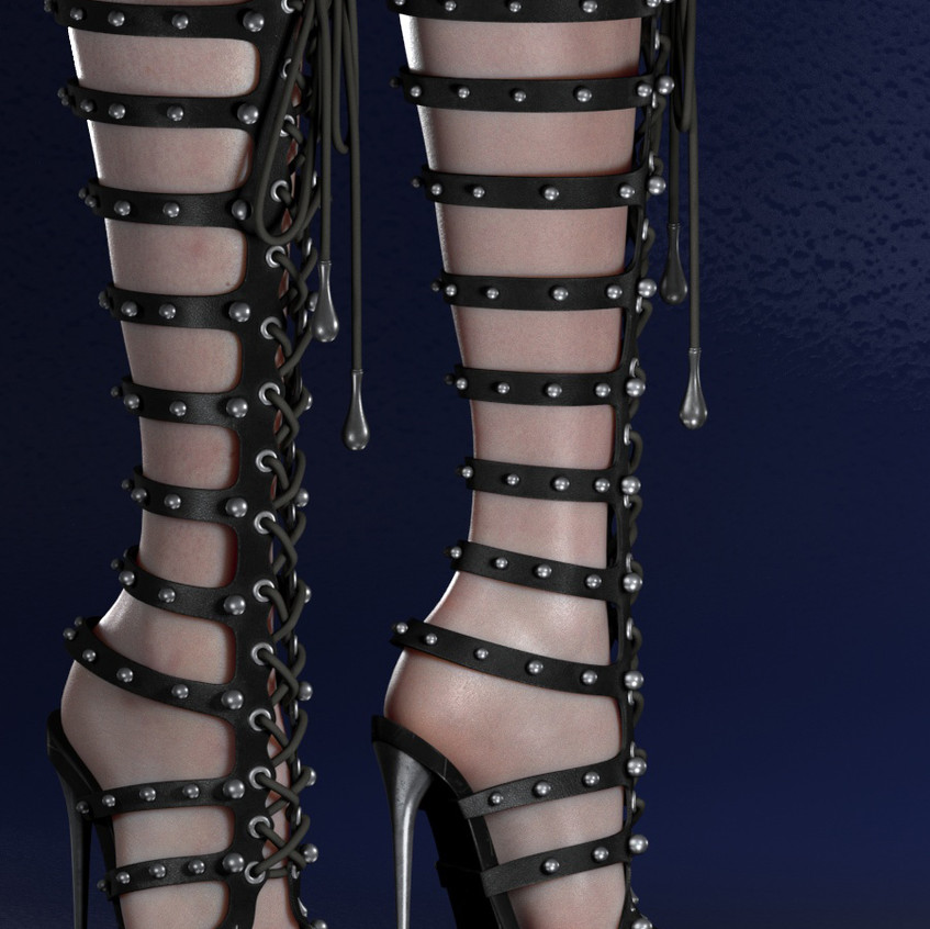 AZOURY - Caleb Shoe {Black}