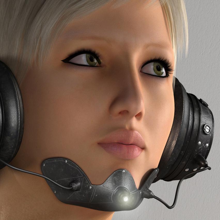 AZOURY - Yudu Headphone [Black]