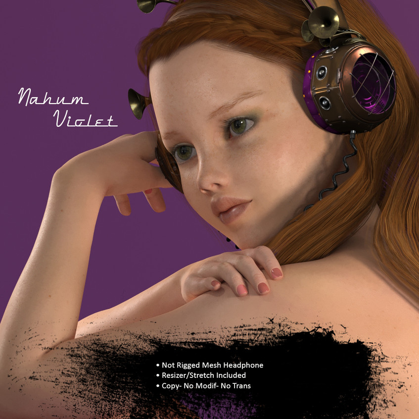 AZOURY - Nahum Headphone Violet